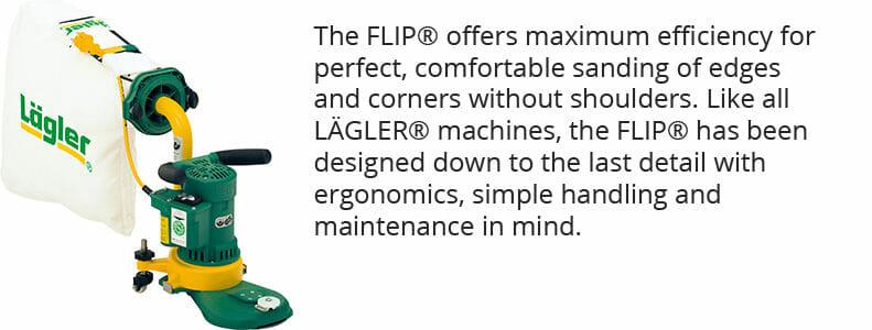 Lagler Flip Machine with KJK Flooring